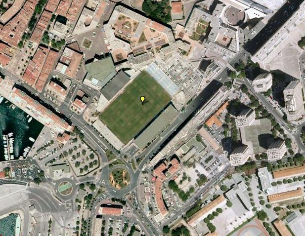 Stade Mayol - Sat